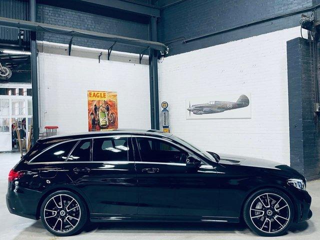 Used Mercedes-Benz C-Class S205 809MY C220 d Estate 9G-Tronic Port Melbourne, 2019 Mercedes-Benz C-Class S205 809MY C220 d Estate 9G-Tronic Black 9 Speed Sports Automatic Wagon