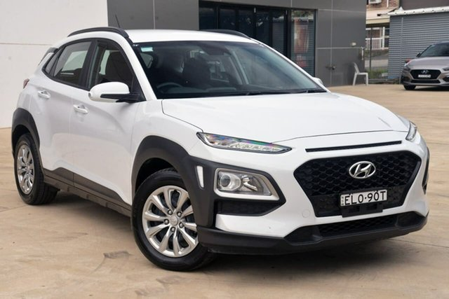 Used Hyundai Kona OS.2 MY19 Go 2WD Tuggerah, 2019 Hyundai Kona OS.2 MY19 Go 2WD White 6 Speed Sports Automatic Wagon