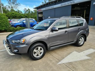 2010 Mitsubishi Outlander ZH MY11 LS 2WD Grey 5 Speed Manual Wagon