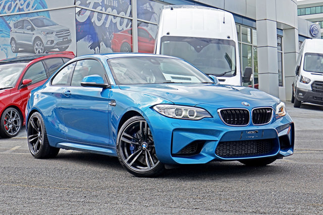 Used BMW M2 F87 D-CT Springwood, 2017 BMW M2 F87 D-CT Blue 7 Speed Sports Automatic Dual Clutch Coupe