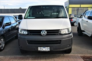 2011 Volkswagen Transporter T5 MY11 Low Roof LWB DSG White 7 Speed Sports Automatic Dual Clutch Van.