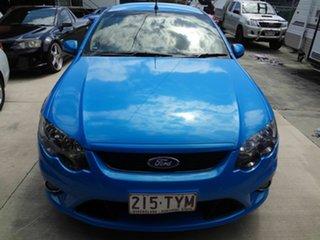 2008 Ford Falcon FG XR6 Blue 6 Speed Manual Utility