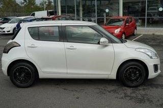 2016 Suzuki Swift FZ MY15 GL White 5 Speed Manual Hatchback