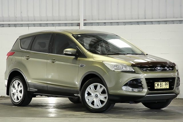 Used Ford Kuga West Gosford, 2013 Ford Kuga AMBIENT Green Wagon