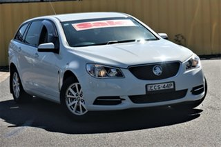 2015 Holden Commodore VF MY15 Evoke Sportwagon White 6 Speed Sports Automatic Wagon
