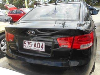 2009 Kia Cerato TD MY09 S Black 5 Speed Manual Sedan