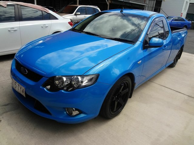 Used Ford Falcon FG XR6 Coopers Plains, 2008 Ford Falcon FG XR6 Blue 6 Speed Manual Utility