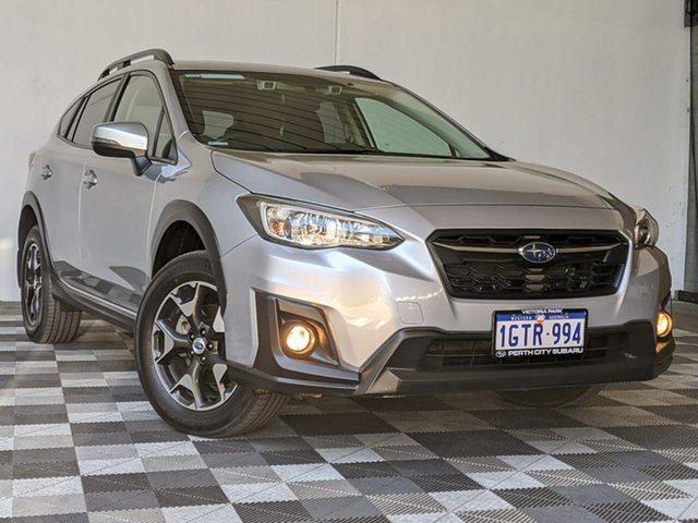 Used Subaru XV G5X MY19 2.0i-L Lineartronic AWD Victoria Park, 2019 Subaru XV G5X MY19 2.0i-L Lineartronic AWD Silver 7 Speed Constant Variable Wagon