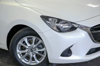 2016 Mazda 2 DJ2HAA Maxx SKYACTIV-Drive White 6 Speed Sports Automatic Hatchback.