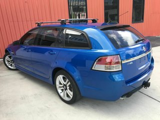 2009 Holden Commodore VE MY09.5 SV6 Sportwagon Blue 5 Speed Sports Automatic Wagon.