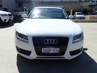 2010 Audi A5 8T 3.0 TDI Quattro Alpine White 7 Speed Auto Direct Shift Coupe.