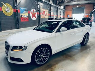 2008 Audi A4 B8 8K Multitronic White 8 Speed Constant Variable Sedan