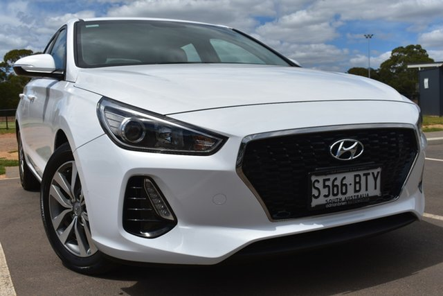 Used Hyundai i30 PD MY18 Active St Marys, 2017 Hyundai i30 PD MY18 Active White 6 Speed Sports Automatic Hatchback