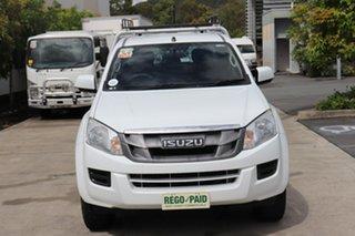 2014 Isuzu D-MAX MY15 SX Crew Cab 4x2 High Ride White 5 speed Automatic Utility.