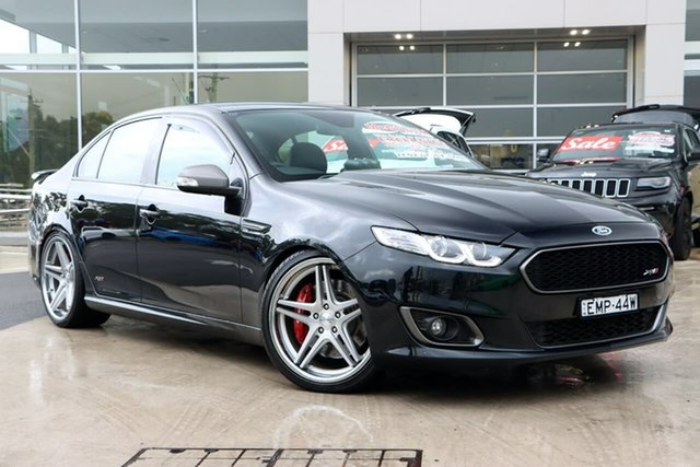Used Ford Falcon FG X XR8 Liverpool, 2014 Ford Falcon FG X XR8 Silhouette 6 Speed Sports Automatic Sedan