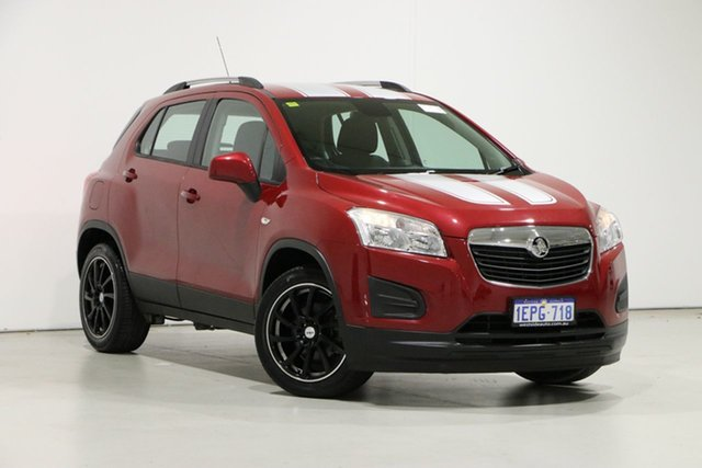 Used Holden Trax TJ LS Bentley, 2014 Holden Trax TJ LS Red 5 Speed Manual Wagon