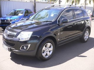 2012 Holden Captiva CG Series II 5 Black 6 Speed Manual Wagon