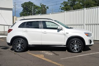 2015 Mitsubishi ASX XB MY15.5 LS 2WD White 6 Speed Constant Variable Wagon.