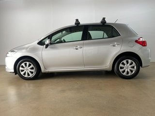 2011 Toyota Corolla ZRE152R MY11 Ascent Sport Silver 6 Speed Manual Hatchback