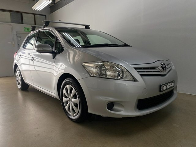 Used Toyota Corolla ZRE152R MY11 Ascent Sport Phillip, 2011 Toyota Corolla ZRE152R MY11 Ascent Sport Silver 6 Speed Manual Hatchback