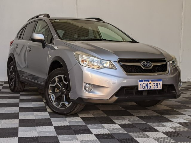 Used Subaru XV G4X MY13 2.0i-L Lineartronic AWD Victoria Park, 2013 Subaru XV G4X MY13 2.0i-L Lineartronic AWD Silver 6 Speed Constant Variable Wagon