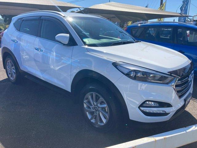 Used Hyundai Tucson TL Elite 2WD North Gosford, 2016 Hyundai Tucson TL Elite 2WD White 6 Speed Sports Automatic Wagon
