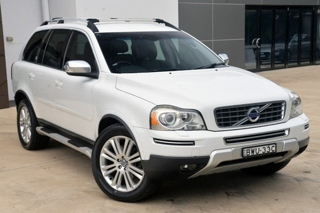 Used Volvo XC90 P28 MY11 D5 Geartronic Executive Tuggerah, 2011 Volvo XC90 P28 MY11 D5 Geartronic Executive White 6 Speed Sports Automatic Wagon
