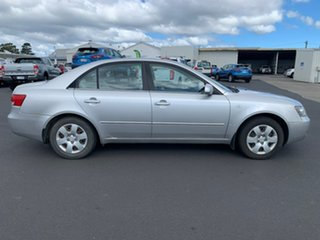 2007 Hyundai Sonata NF Silver 4 Speed Automatic Sedan.