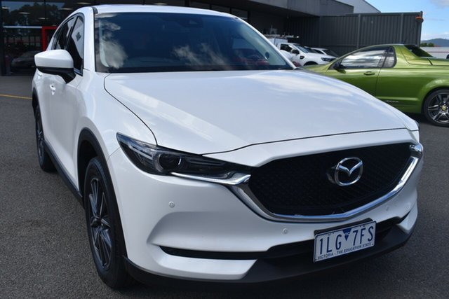 Used Mazda CX-5 KE1022 Akera SKYACTIV-Drive i-ACTIV AWD Wantirna South, 2017 Mazda CX-5 KE1022 Akera SKYACTIV-Drive i-ACTIV AWD White 6 Speed Sports Automatic Wagon