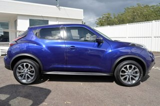 2015 Nissan Juke F15 Series 2 ST X-tronic 2WD Purple 1 Speed Constant Variable Hatchback.