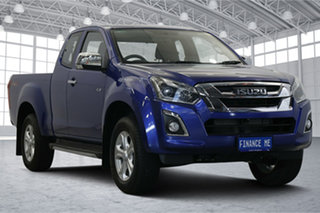 2019 Isuzu D-MAX MY19 LS-U Crew Cab Blue 6 Speed Sports Automatic Utility.