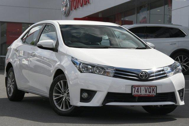 Pre-Owned Toyota Corolla ZRE172R SX S-CVT Woolloongabba, 2015 Toyota Corolla ZRE172R SX S-CVT White 7 Speed Constant Variable Sedan