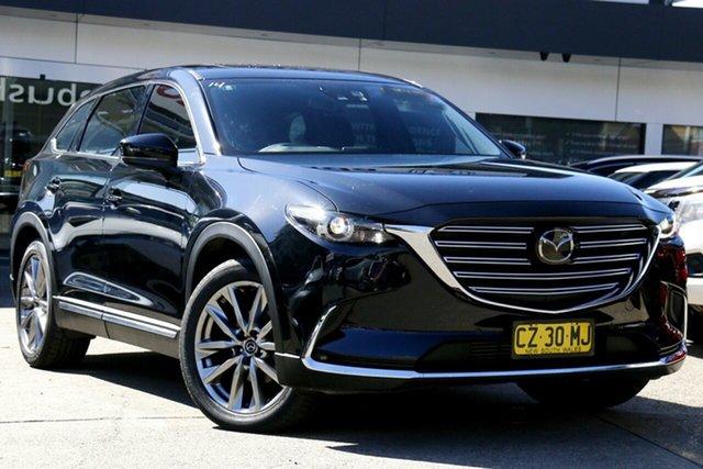 Used Mazda CX-9 TC Azami SKYACTIV-Drive Homebush, 2017 Mazda CX-9 TC Azami SKYACTIV-Drive Black 6 Speed Sports Automatic Wagon