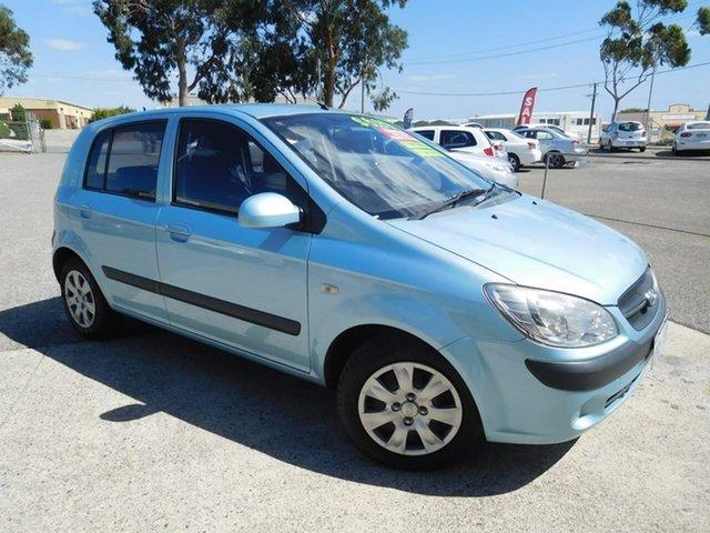 Used Hyundai Getz TB MY09 SX Wangara, 2010 Hyundai Getz TB MY09 SX Blue 5 Speed Manual Hatchback
