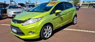 2010 Ford Fiesta WS Zetec Green 4 Speed Automatic Hatchback
