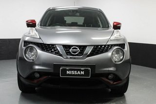 2015 Nissan Juke F15 Series 2 Ti-S 2WD Grey 6 Speed Manual Hatchback.
