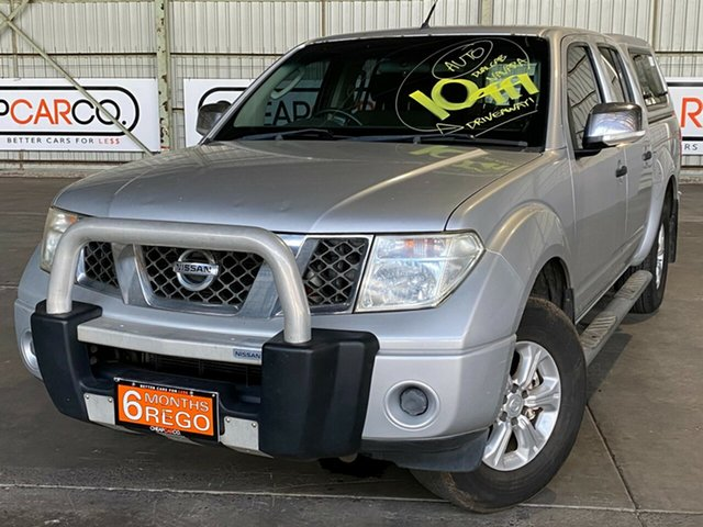 Used Nissan Navara D40 ST-X 4x2 Rocklea, 2008 Nissan Navara D40 ST-X 4x2 Silver 5 Speed Automatic Utility