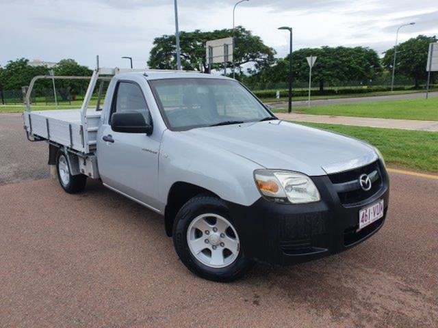 Used Mazda BT-50 UNY0W3 DX 4x2 Townsville, 2007 Mazda BT-50 UNY0W3 DX 4x2 Highlight Silver 5 Speed Manual Cab Chassis