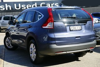 2013 Honda CR-V RM MY14 VTi-S 4WD Blue 5 Speed Sports Automatic Wagon.