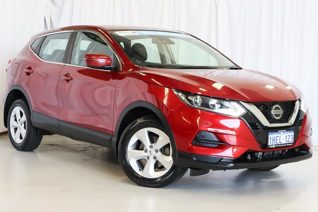 Used Nissan Qashqai J11 Series 2 ST X-tronic Wangara, 2019 Nissan Qashqai J11 Series 2 ST X-tronic Red 1 Speed Constant Variable Wagon