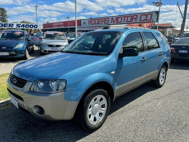 Used Ford Territory SY TX (RWD) Victoria Park, 2007 Ford Territory SY TX (RWD) Blue 4 Speed Auto Seq Sportshift Wagon