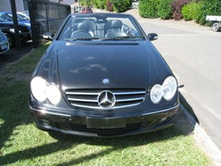 2007 Mercedes-Benz CLK350 C209 07 Upgrade Avantgarde Black 7 Speed Automatic G-Tronic Cabriolet.