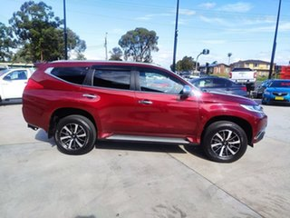 2018 Mitsubishi Pajero Sport QE MY18 Exceed Burgundy 8 Speed Sports Automatic Wagon.
