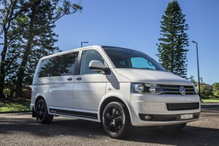 2011 Volkswagen Multivan T5 MY11 Edition DSG 25 White 7 Speed Sports Automatic Dual Clutch Wagon.