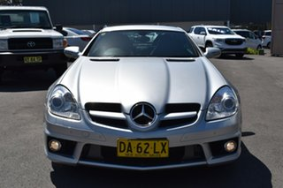 2009 Mercedes-Benz SLK-Class R171 MY09 SLK350 Silver 7 Speed Automatic Roadster