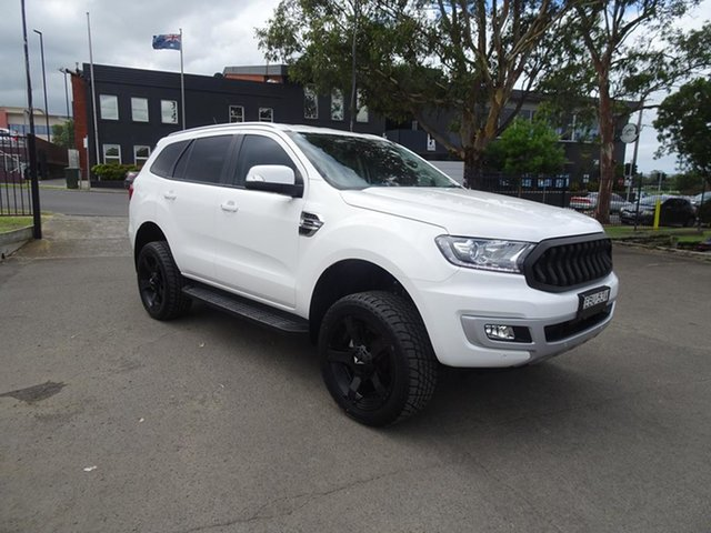 Used Ford Everest UA II 2019.75MY Trend Nowra, 2019 Ford Everest UA II 2019.75MY Trend Arctic White 10 Speed Sports Automatic SUV