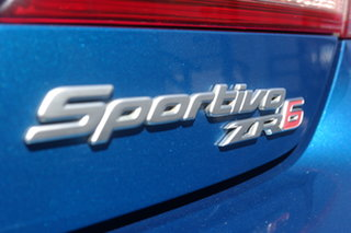 2008 Toyota Aurion GSV40R Sportivo ZR6 Blue 6 Speed Sports Automatic Sedan