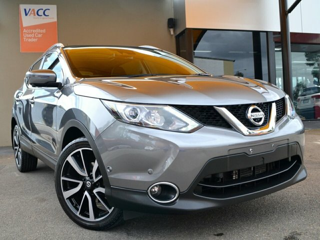 Used Nissan Qashqai J11 TI Fawkner, 2016 Nissan Qashqai J11 TI Gun Metal Graphite Grey 1 Speed Constant Variable Wagon