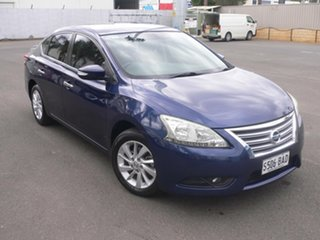 2013 Nissan Pulsar B17 ST-L Blue 6 Speed Manual Sedan.