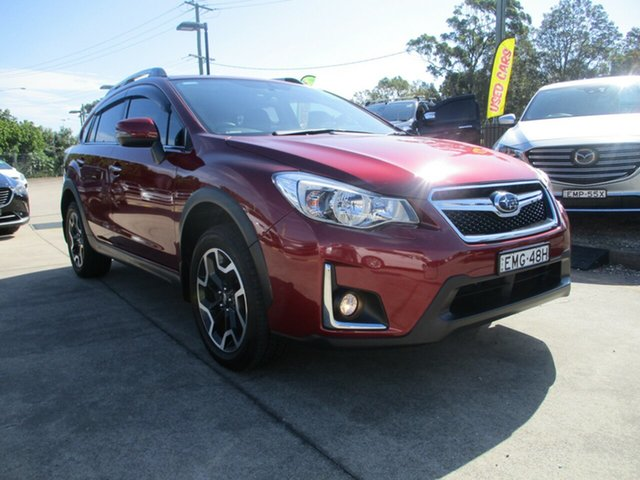 Used Subaru XV G4X MY16 2.0i-S Lineartronic AWD Glendale, 2016 Subaru XV G4X MY16 2.0i-S Lineartronic AWD Venetian Red 6 Speed Constant Variable Wagon
